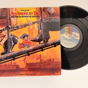 Vintage 1986 American Tail Soundtrack Record